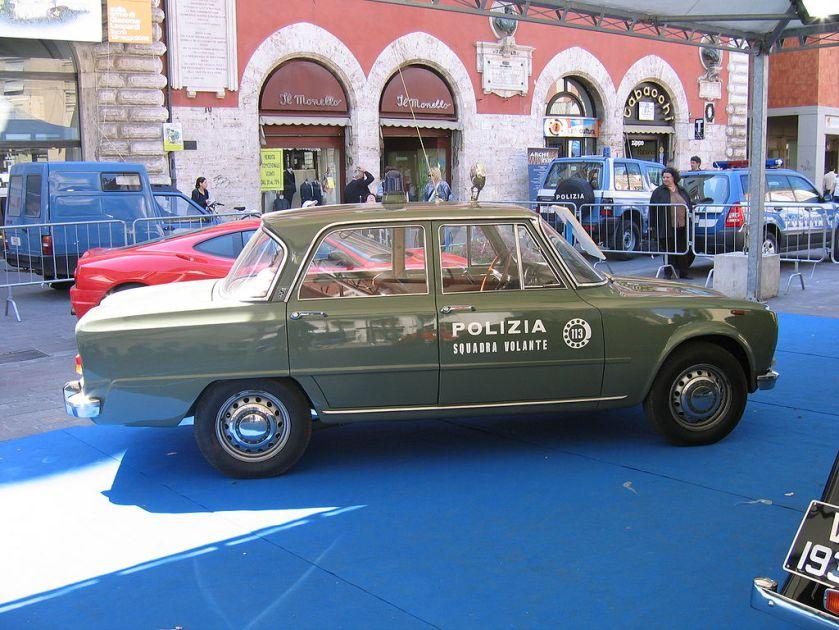 Italian police alfa giulia 2