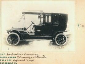 landaulet limousine delauny belleville Cipriano Pagez 13