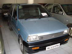 Maruti 800 AC, the model after the 1997 upgrade