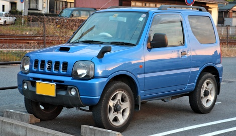 Mazda AZ-Offroad rebadged Suzuki