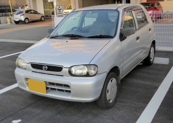 Mazda CAROL SG (HB12S) front