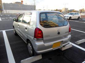 Mazda CAROL SG (HB12S) rear