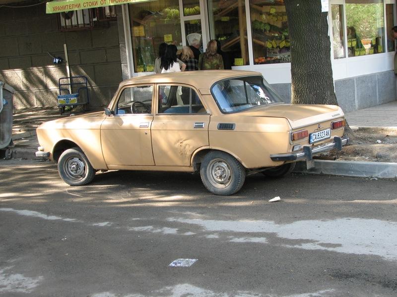 Moskvich 2138 in Sofia, Bulgaria