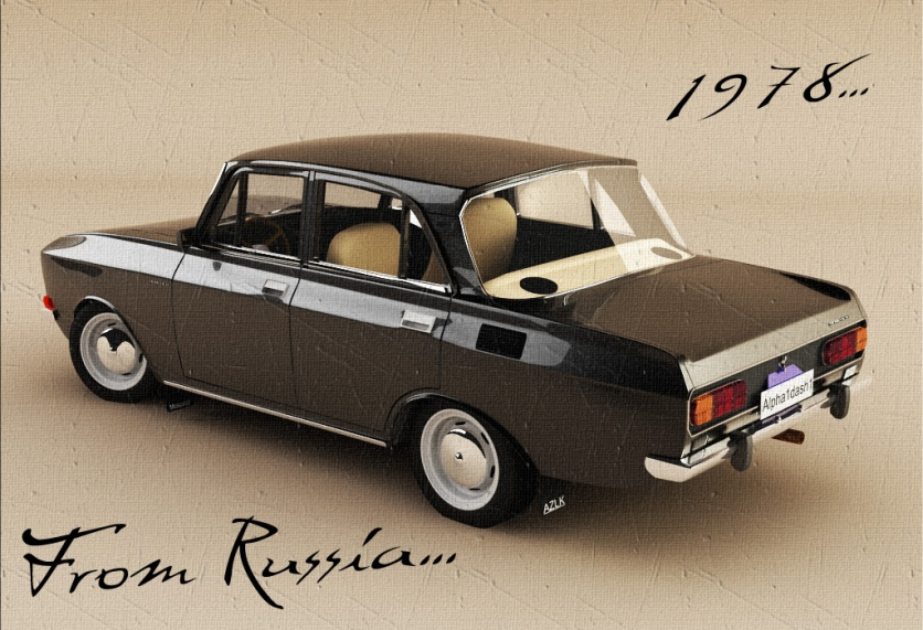Moskvich 2140 by Alpha