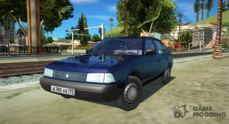 Moskvich-2141 Yuri Dolgoruky 2001 for GTA San Andreas