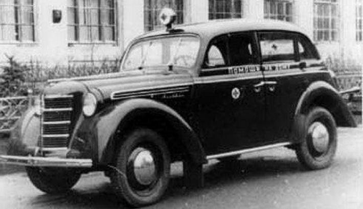 moskvich 400-3 ambulance car