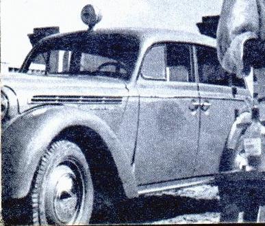 Moskvich-400 ambulance