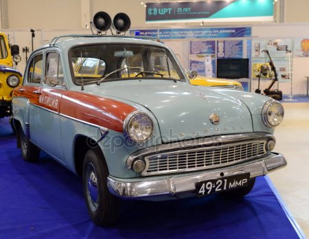 Moskvich-403 police