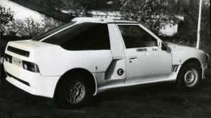 Moskvich - Aleko 2141 KR rear