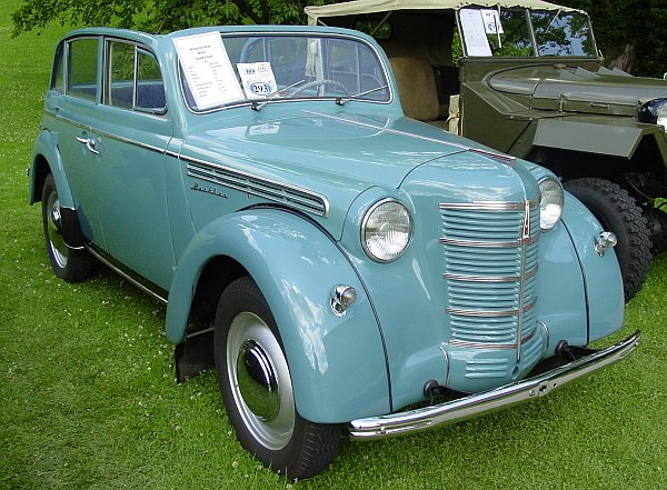 Moskvitch 401-1 Convertible