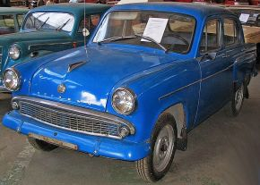 Moskvitch 403 (400 series from 1956 to 1965)