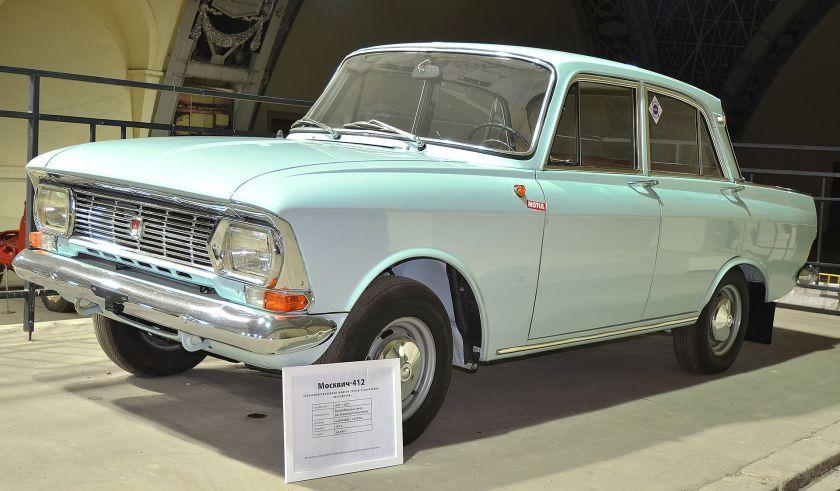 Moskvitch 412 (Moskvich 412, Москвич-412, M-412)