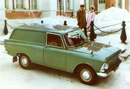 Moskvitch 433 three door van a