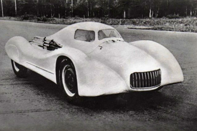 Moskvitch G2 model