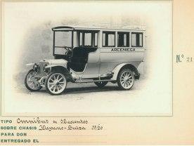 omnibus de 12 asientos hispano suiza 15-20 21