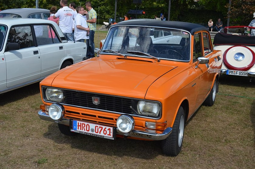 Orange Moskvich 2140
