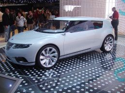 Saab 9-2X BioHybrid 001 prototype cancelled due to bankruptcy