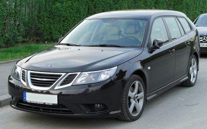 Saab 9-3 SportCombi II 1.9 TiD Facelift front