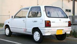 Suzuki Alto Juna rear special edition CA72 rear