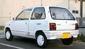 Suzuki Alto Juna rear special edition CA72 rear