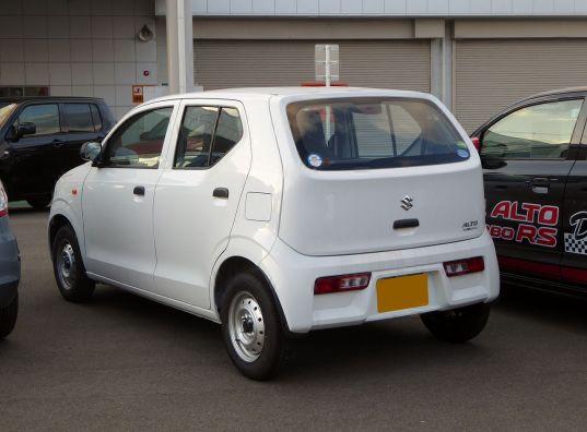 Suzuki ALTO VAN VP (HA36S) rear