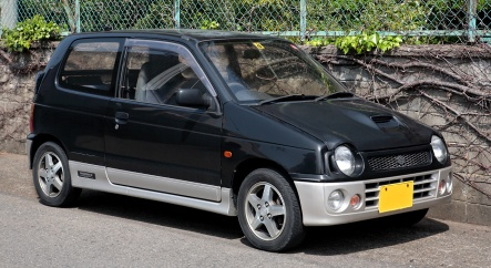 Suzuki Alto Works 660 RS-Z (HA21), facelift model