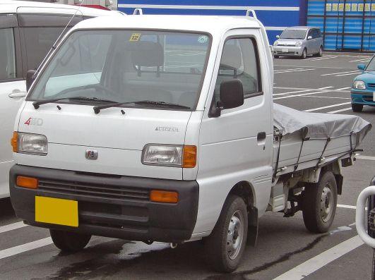 Suzuki Carry +2nd Mazda Scrum
