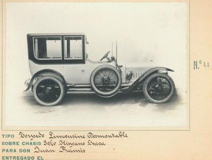 torpedo limousine desmontable 30-40 hispano suiza juan framir 41