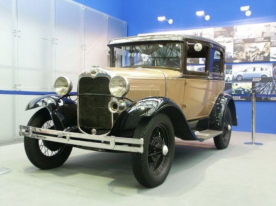 1931 Ford-A toudor - KNM