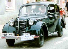 1939 Opel Olympia De Luxe 2-Door Limousine