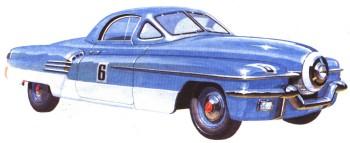 1946-1955 Заднемоторный Москвич-Г1-405. 1955 г. 210-1