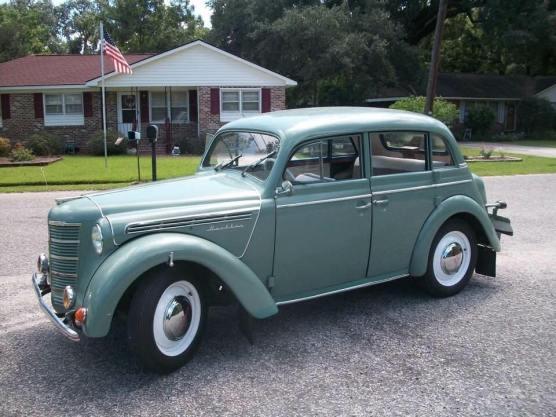 1951 Moskvitch 400 a