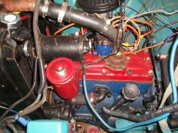 1951 Moskvitch 400 engine