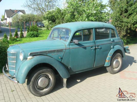 1952 MOSKVITCH 401