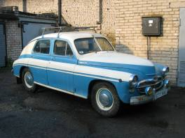 1954 Moskvich 401