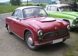 1955-59 AWZ P70 Coupé, VEB Automobilwerk Zwickau (DDR), 1955–1959