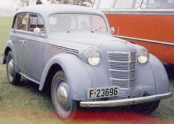 1955 Moskvich 401