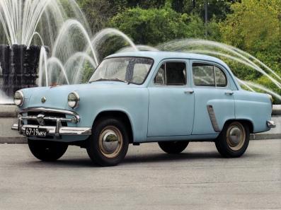 1956-1958 Moscvitch 402 - Москвич 402