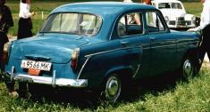 1958-1962 Moskvich-407 rear
