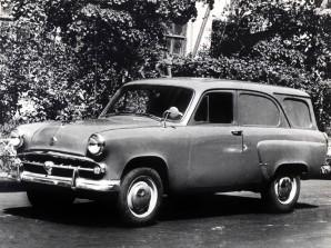 1958 Moskvich 430 Wagon Press Photo