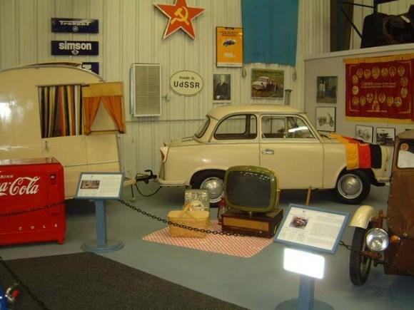 1958 Trabant DDR + caravan