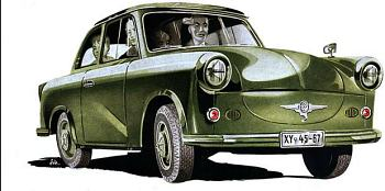 1958 trabant p50