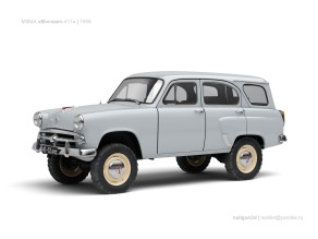 1959 MZMA ussr-moskvich-411-1959-0