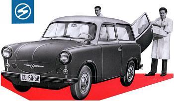 1959 trabant p 50