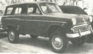 1960 Moskvich-411