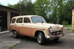 1960' #MZMA-423N 'Moskvitch'