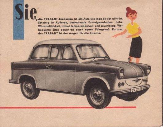 1961 Trabant 500 Prospekt