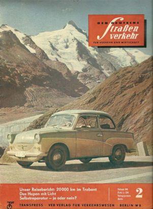 1961 Trabant ad