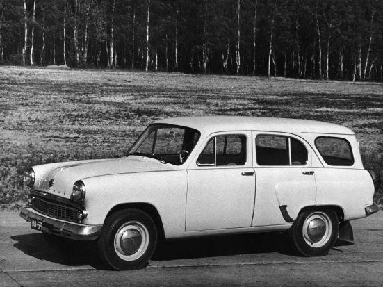 1962 Moskvitch 424