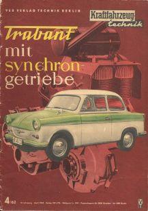 1962 Trabant mit synchron getriebe